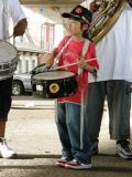 snare drummer tiger
