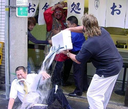 魚屋イジメ(カオス)