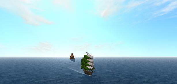 アリデス洋上