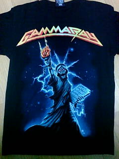 Gamma Ray shirt 1