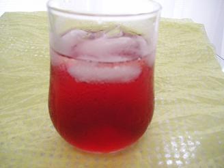 赤じそジュース