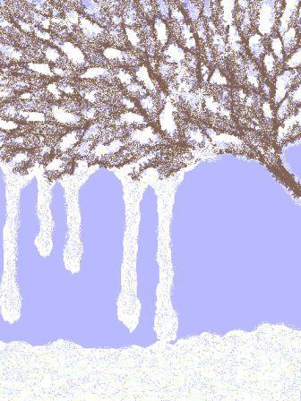 *雪の朝 2
