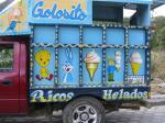 アイス売りの車