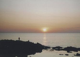 シロウトが撮った夕陽
