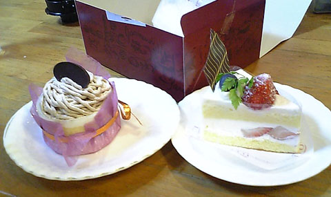 M子誕生日ケーキ