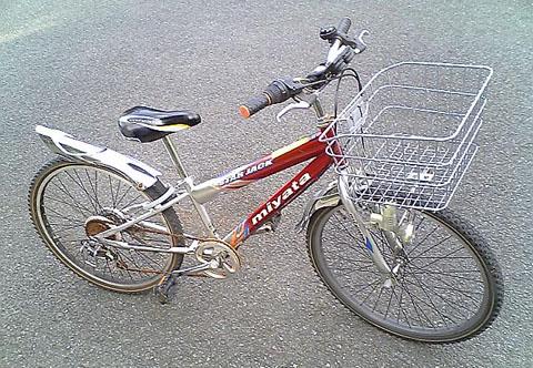 ○○キの自転車