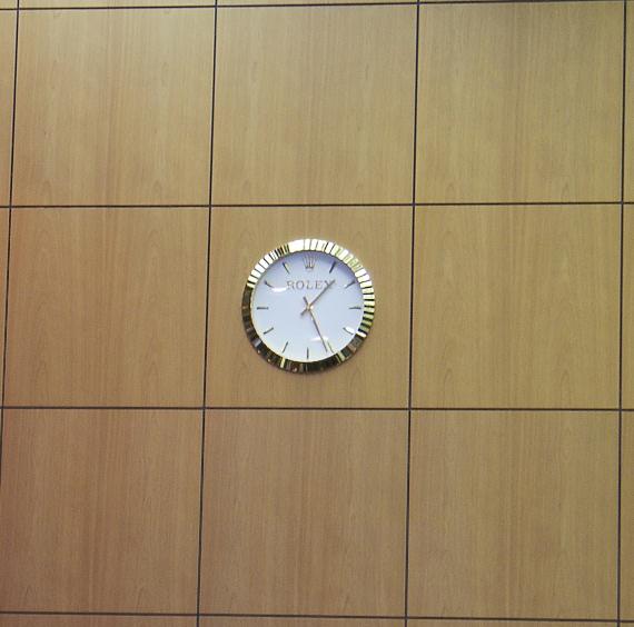 ROLEX壁掛け時計