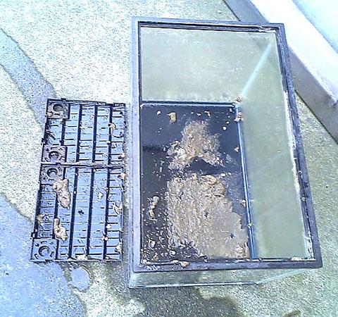 水槽の汚れ