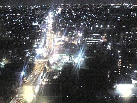 22階からの夜景