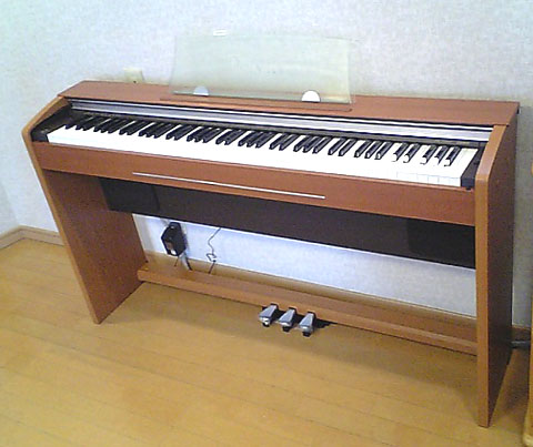 ピアノ完成!