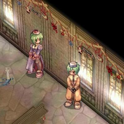 モース兄さんとプリナさん01(2008クリスマス)