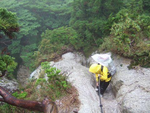 予想外に本格的な山登りだった宮之浦岳。