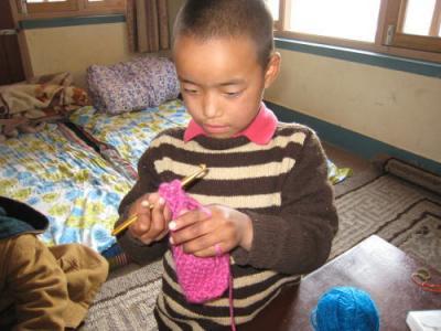 編み物2-2