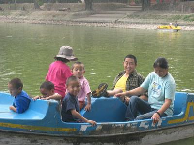 動物園でボート
