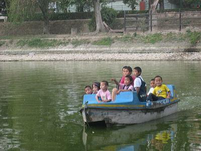 動物園でボート2