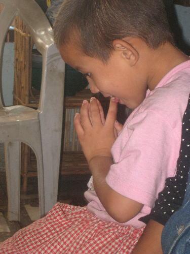 朝のお祈り2