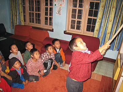 チベット語の授業1