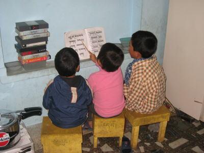 チベット語の授業3