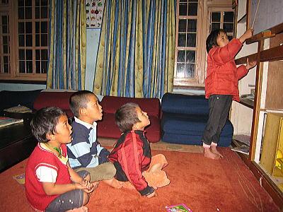 チベット語の特訓