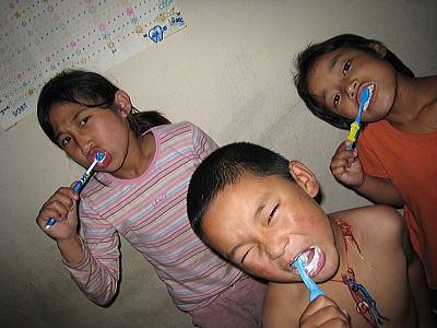 歯磨きチェック3