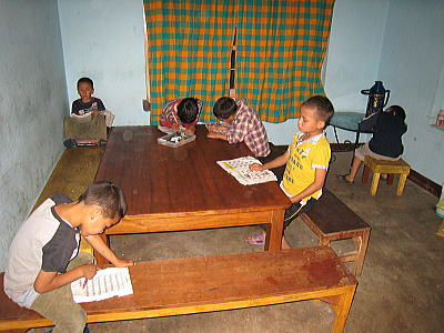 夕食後の勉強3