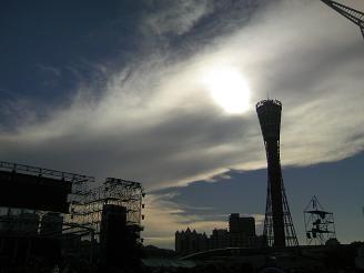 200812ライブ夕陽