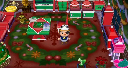 クリスマス家具コンプ