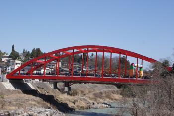 天龍橋開通 2
