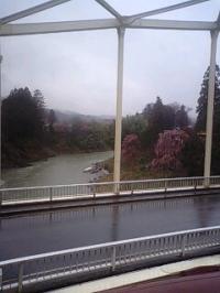 雨の天竜峡