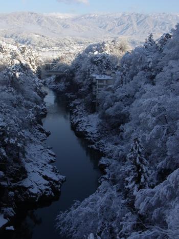 雪の龍角峯
