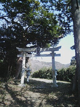 三浦富士登山口