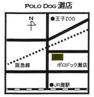 ポロドッグ地図