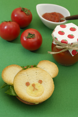 手作りトマトケチャップ&ジャッキーサンドmini