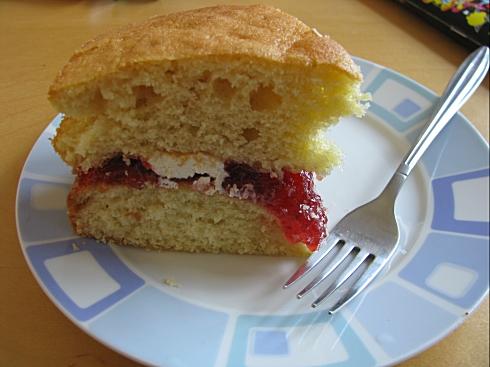 Victorian sandwich