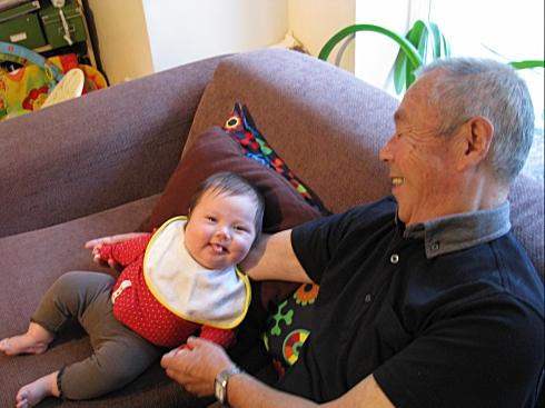 talking to Grand dad