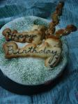 ユウキ君のBDケーキ