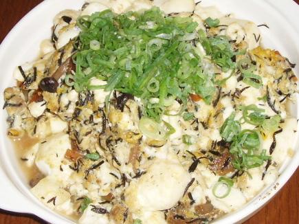 2008915ひじきとお豆腐の炒り煮