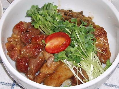 2008920豚の角煮丼