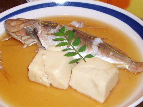 2008921糸より鯛と豆腐の炊いたの