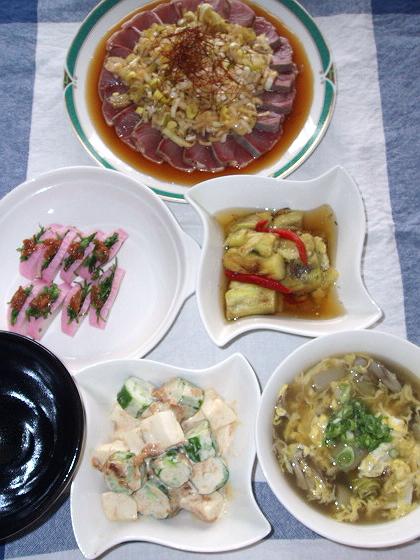 2008927夕ご飯