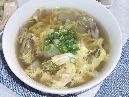 2008927焼き葱とエリンギのスープ