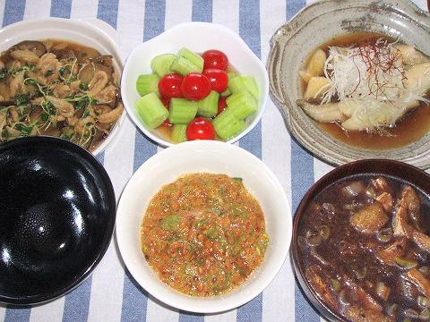 20081004夕ご飯