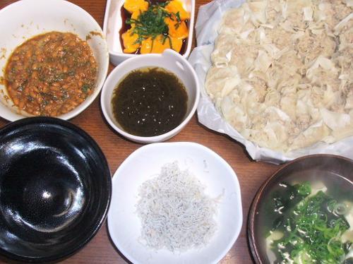 20081005夕ご飯