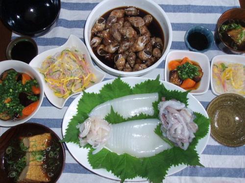 20081012夕ご飯