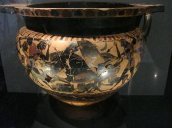 テッサロニキ博物館の壷