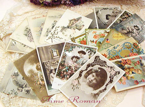 antique card