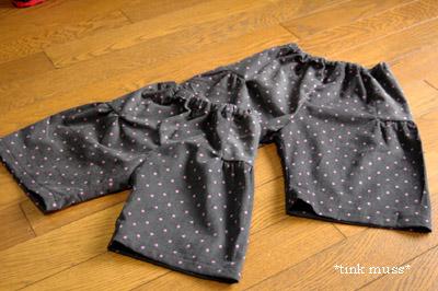 PD女の子パンツ