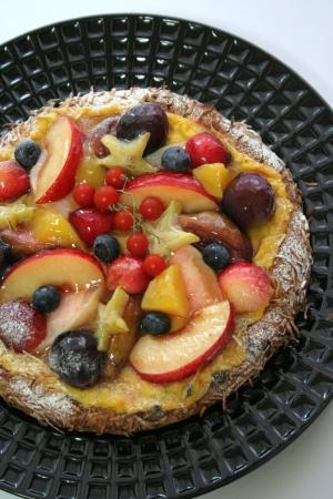 フルーツのガレット