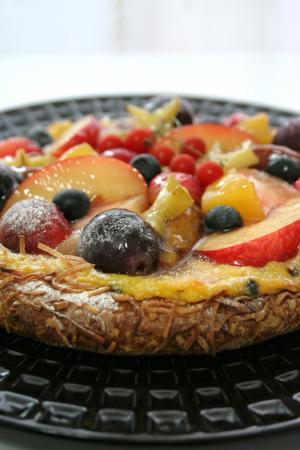 フルーツのガレット1
