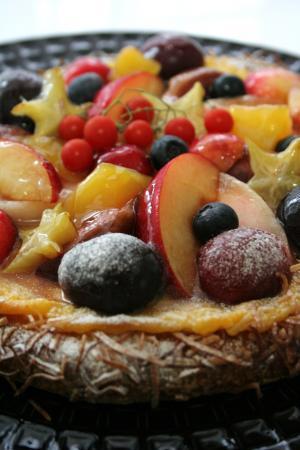 フルーツのガレット2